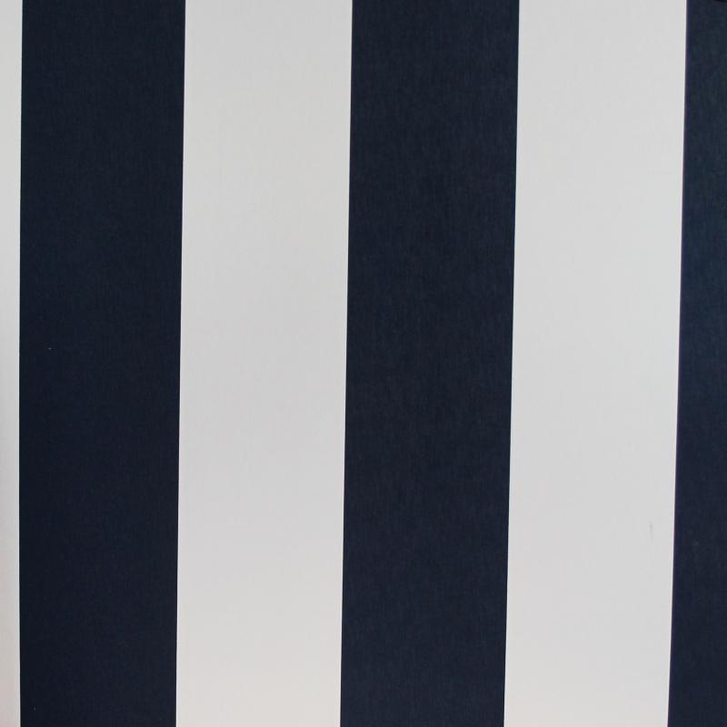 Carta da parati righe strisce bianco e blu for Carta parati blu