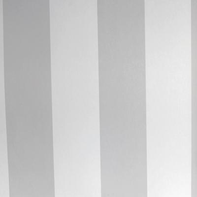 Carta da parati a righe bianco e grigio