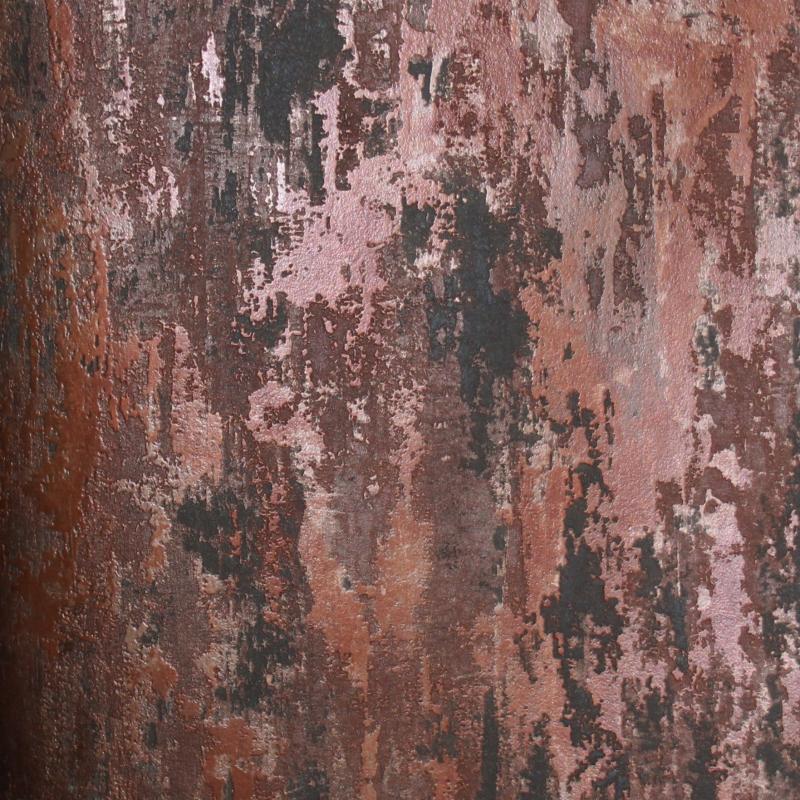 Carta da parati effetto ruggine cemento muro rovinato for Carta da parati muro