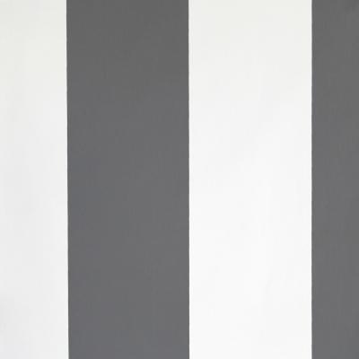 Carta da parati righe bianche e grigio scuro