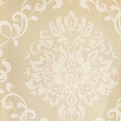 Carta da parati damasco barocco beige