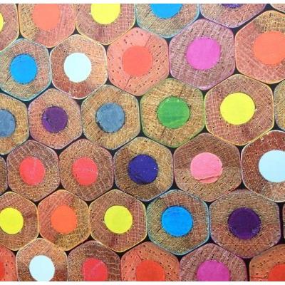 Carta da parati matite colorate