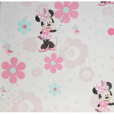 Carta da parati Minnie Disney