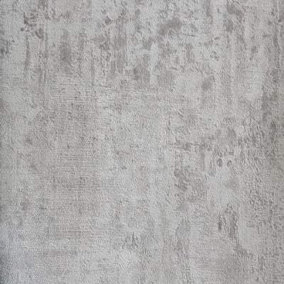 Carta da parati effetto muro invecchiato grigio