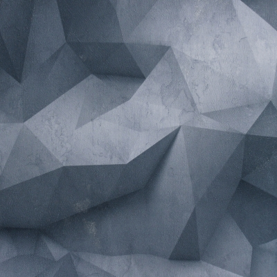 Carta da parati tridimensionale blu